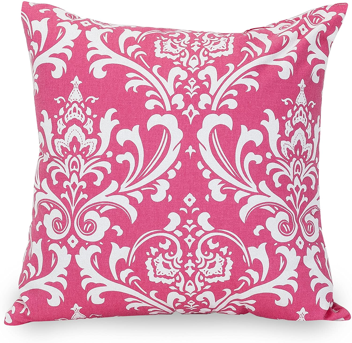 Majestic Home Goods Hot Pink French Quarter Indoor Large Pillow 20