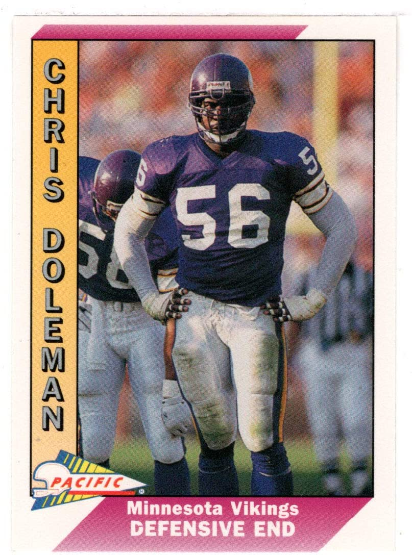 Chris Doleman - Minnesota Vikings (Football Card) 1991 Pacific # 287 Mint
