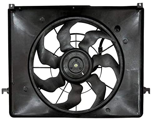 Rareelectrical New Cooling Fan Compatible With Hyundai Sonata 2010 by Part Number 253800A170 HY3115134 25380-0A170