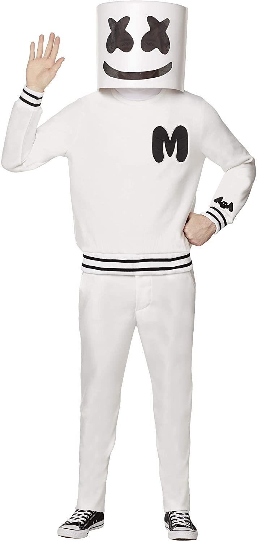 Spirit Halloween Adult Marshmello Costume