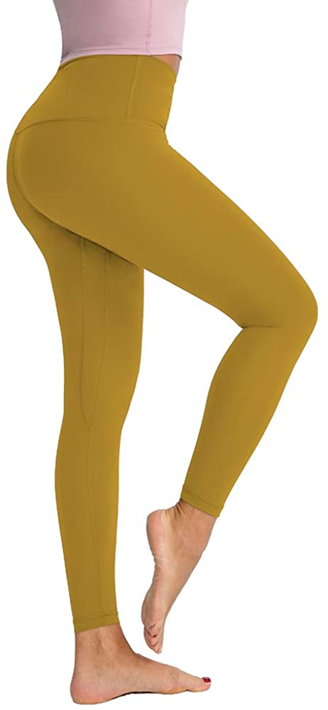 LITIAN Womens High Waist Yoga Pants Workout Athletic Ankle Leggings with Waistband Pocket