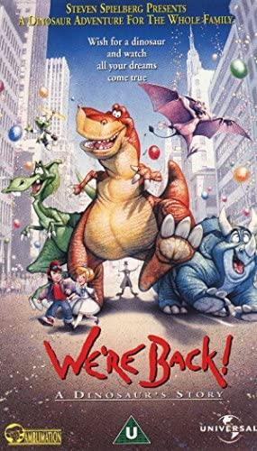 We're Back! A Dinosaur's Story [VHS]