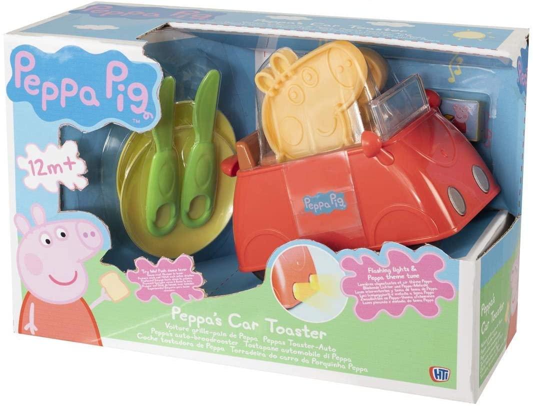 Peppa Pig Car Toaster Playset
