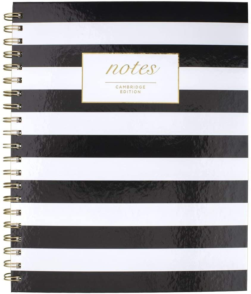 Cambridge Business Notebook, Hardcover, 80 Sheets, 11 x 8-7/8