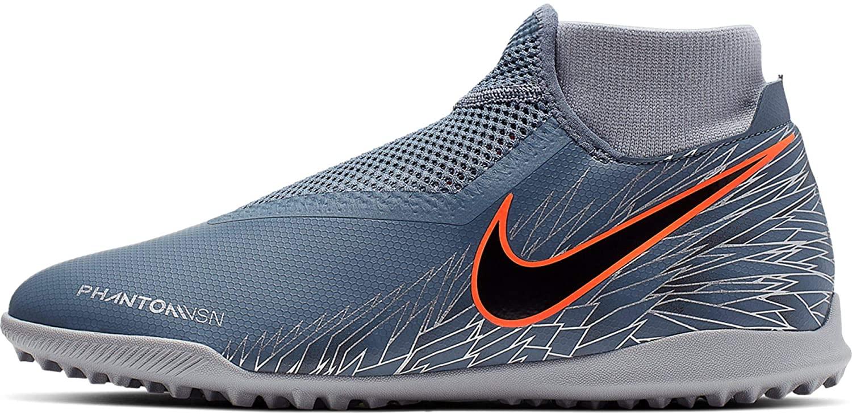 Nike Phantom Vision Academy DF TF Soccer Shoes (Armory Blue) (Men's