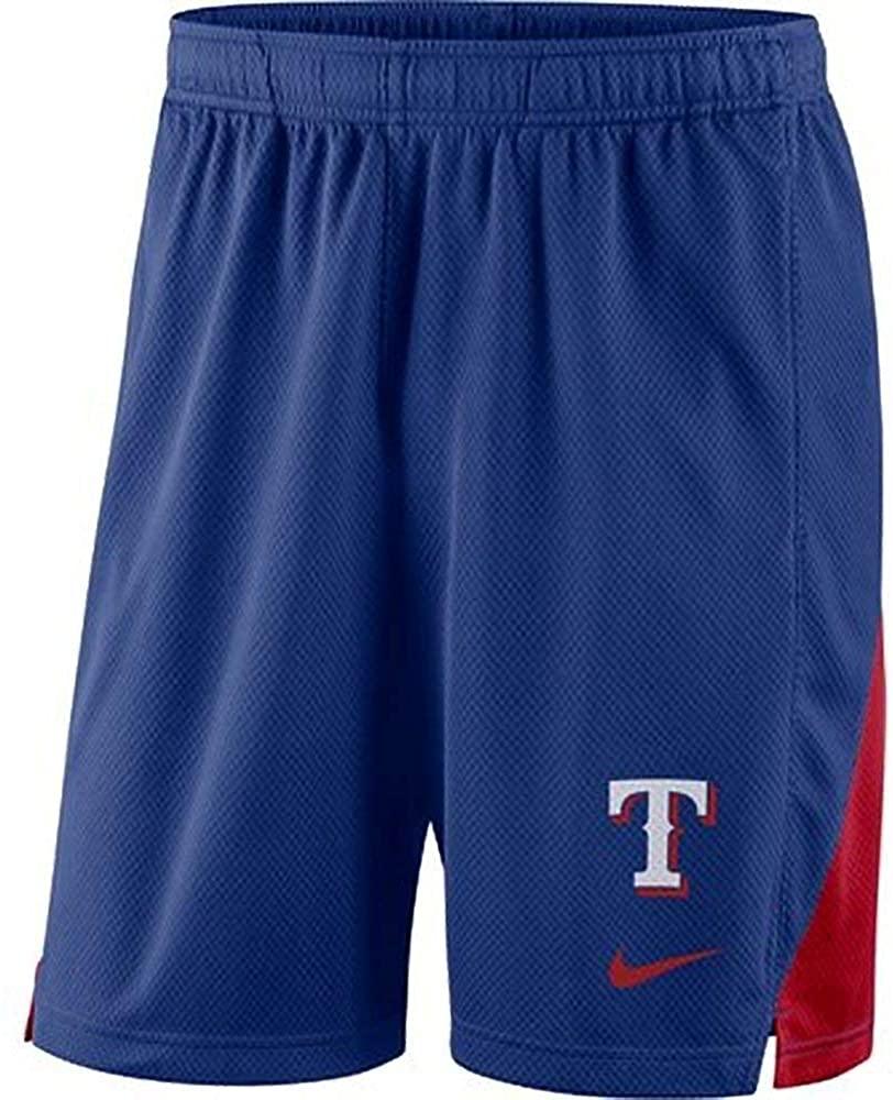 Nike Men's Texas Rangers Franchise Performance Shorts - Royal