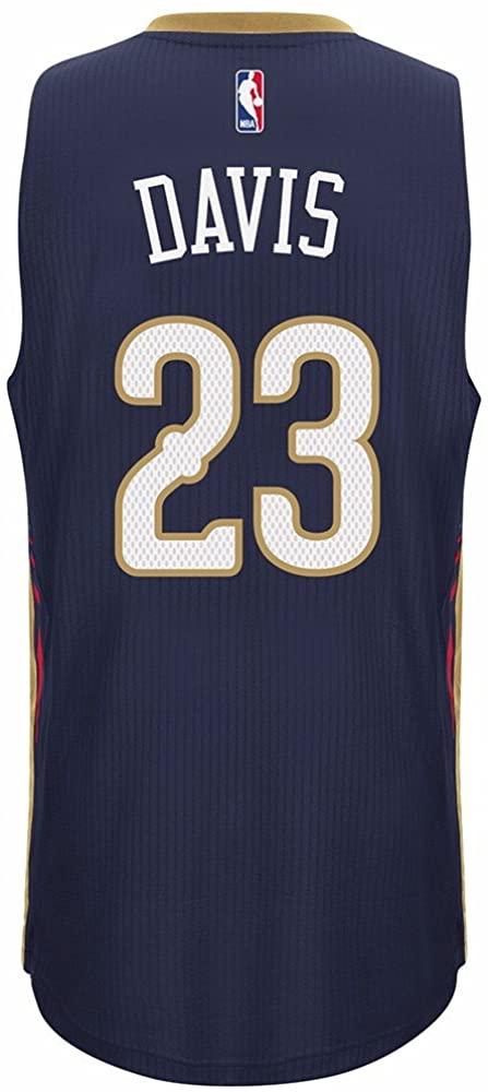Anthony Davis New Orleans Pelicans Adidas Swingman Navy Jersey (S)