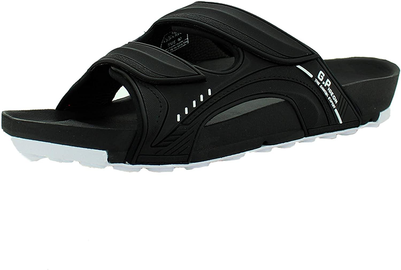 Pirogue Unisex Orthoheel High Density Gel Slide Sandals