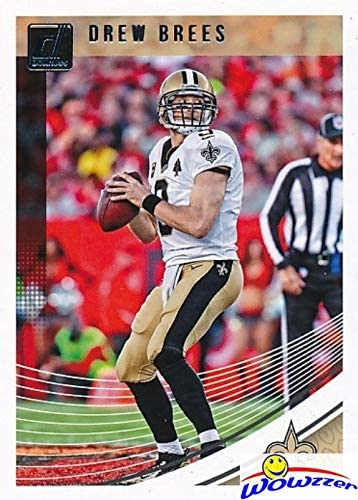 Drew Brees 2018 Donruss Football Card #37 in MINT Condition! Shipped in Ultra Pro Top Loader to Protect it! New Orleans Saints Superstar Quarterback! WOWZZER!