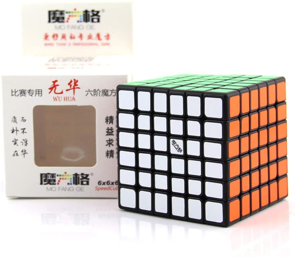 Magic Cube,Speed Cube,6X6x6 Smooth Speed Transforming Cubes,Brain Game,Magic Puzzle Cubes for Kids and Adults Ultra Durable and Flexible for Brain