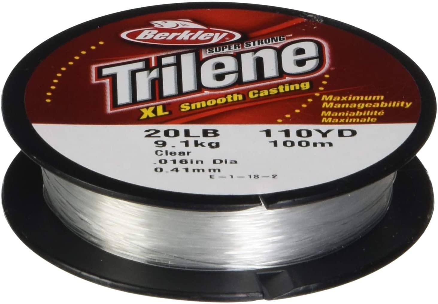 Berkley Trilene XL Monofilament Fishing Line (All Sizes & Colors)