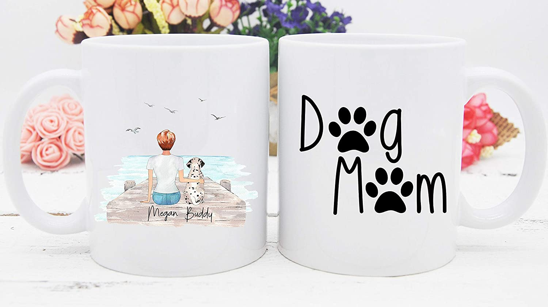 Dog Mom Mug, Personalized Dog Mug, Dog Mother Gift, Dog Lover Gift, Dog Lovers COFfee Cup, Custom Dog Mug, Dog Mom Cup, Dog Owner Cup