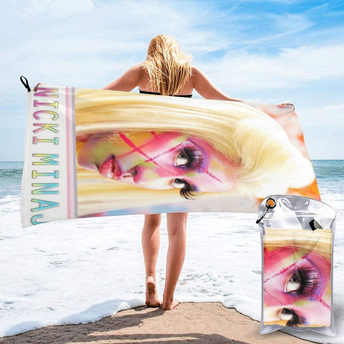 ColletteKMaddox Nicki Minaj Roman Reloaded Quick-Drying Bath Towel Soft Towel, Suitable for Beach, Hotel, Bathroom,Microfiber Towels 27.5X55