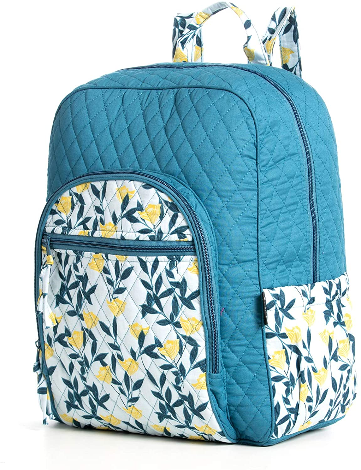 MIXCORE Cotton Lrg Backpack Lightweight Travel Backpack with U-shaped Zip Compartment