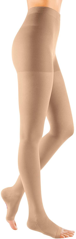 mediven Comfort, 30-40 mmHg, Compression Pantyhose, Open Toe