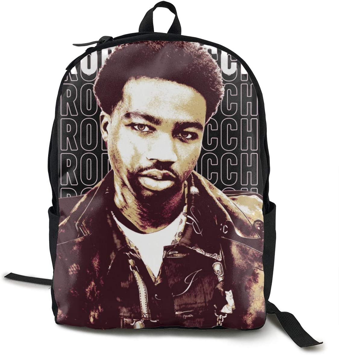 Unisex Rod-dy RIC-ch Travel Laptop Backpack Slim Durable Laptops Backpack Water Resistant College School for Fits 16.5 Inch Leisure Schoolbag