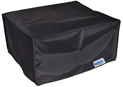 Comp Bind Technology, Dust Cover for HP Neverstop 1001nw Wireless Laser Printer, Black Nylon Anti-Static Dust Cover Dimensions 16''W x 14.7''D x 8.3''H
