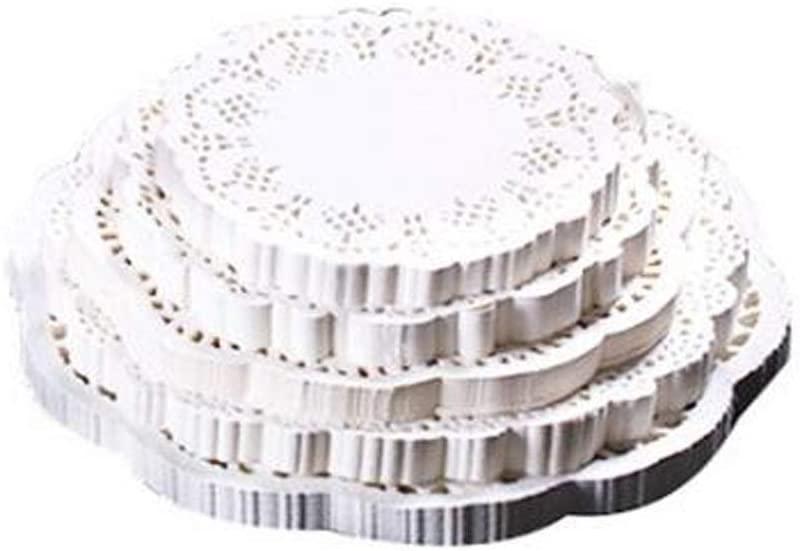 Paper Doilies,140 Pieces Doilies Paper,Lace Doilies Paper Round Decorative Paper Placemats Bulk for Desert,Tableware Decoration,7.5 Doilies Round Paper Placemats for Cake Packaging