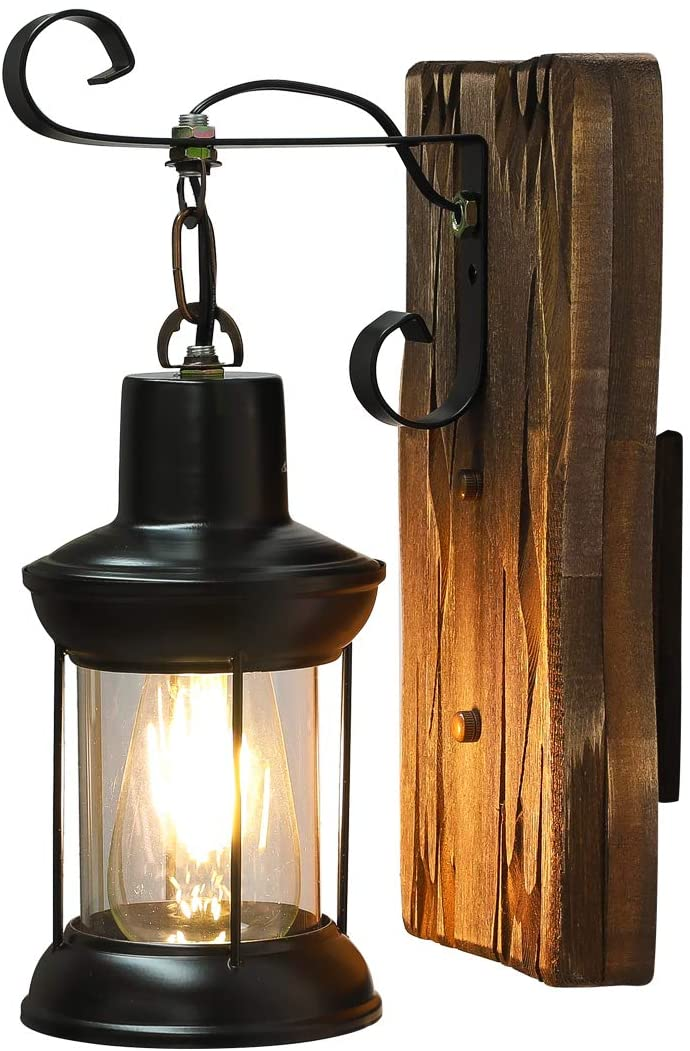 Industrial Vintage Wall Lamp,Metal Wall Lighting Fixture for Home/Hotel/Corridor Decorate Wall Light