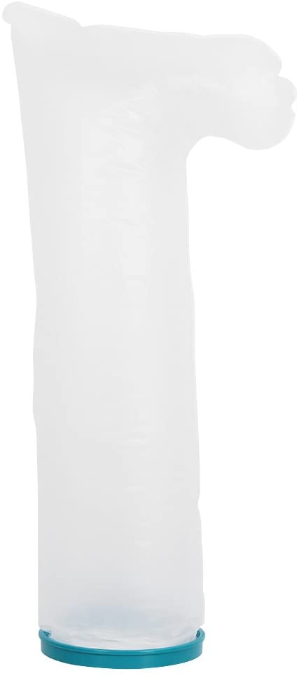Cast Protector, Waterproof Adult Sealed Cast Bandage Protector Wound Fracture Foot Leg Knee Cover for Shower for Keeping Water Out(sl2105)