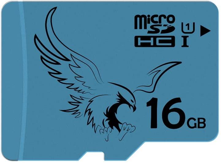 BRAVEEAGLE 2 Pack Micro sd 16GB Class 10 U1 Memory Card Pack microSDHC for Smartphone/Tablet (2 Pack x 16GB U1)