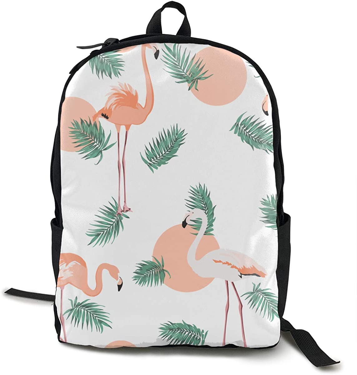 O-X_X-O Casual Rucksack for Laptop Books Unisex College School Travel Backpack