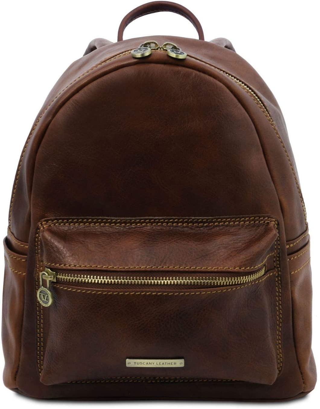 Tuscany Leather - Sydney - Leather backpack - TL141979 (Dark Brown)