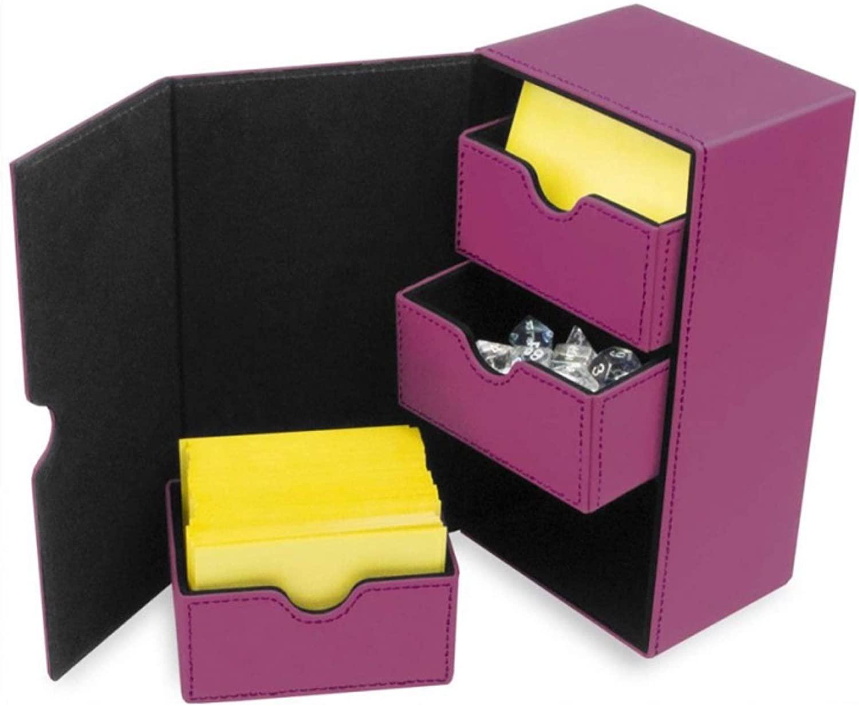 BCW Deck Vault LX 200 Deck Box – Pink