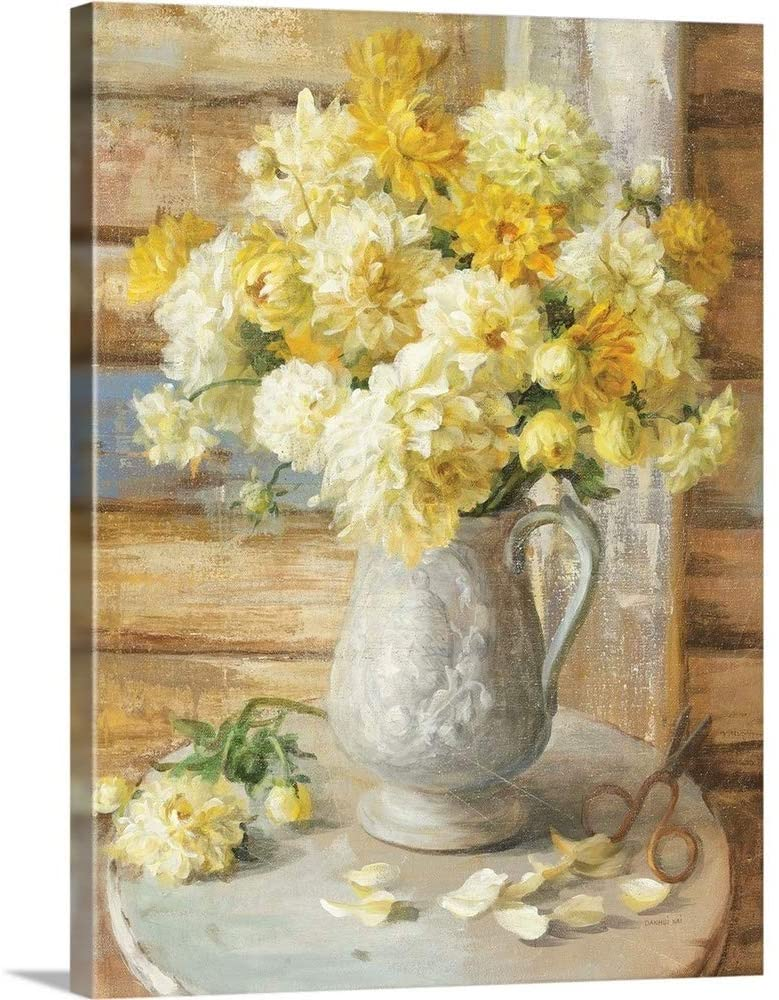 from The Garden Canvas Wall Art Print, 18x24x1.25