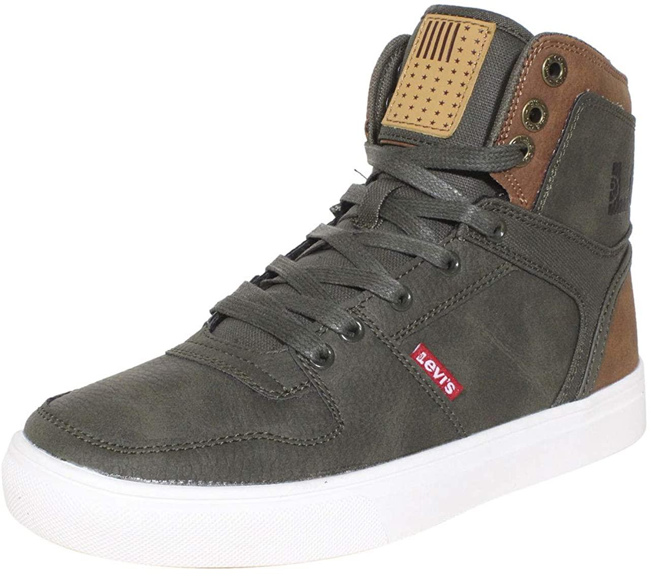 Levi's Mens Mason Hi Anti Fashion Hightop Sneaker Shoe