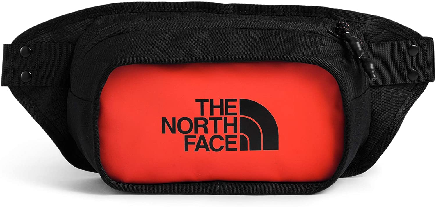 The North Face Explore Hip Pack, Flare/TNF Black, OS