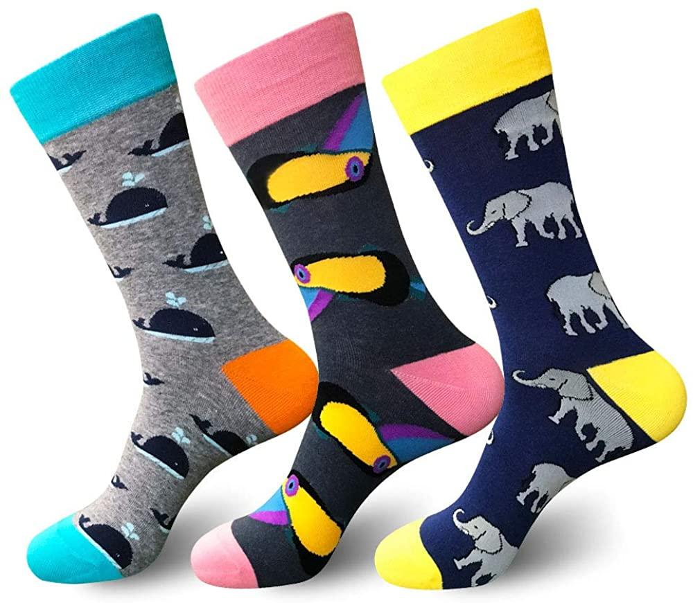 Casual Crew Socks Dress Socks Compression Socksfor Men & Women