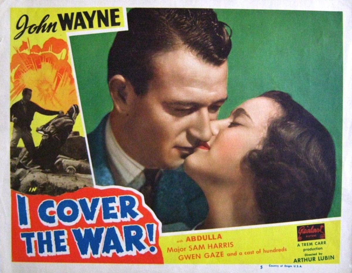 Gifts Delight Laminated 18x14 Poster: John Wayne - Gwen Gaze