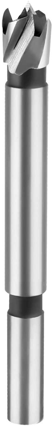HPHOPE Forstner Drill Bit, 3/8-Inch Forstner Bit Set, Wood Drilling, Drill Bits with Round Shank