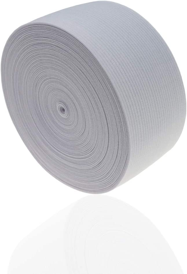 Elastic Band for Sewing2inch 11yard in Arts, Crafts & Sewing (White)