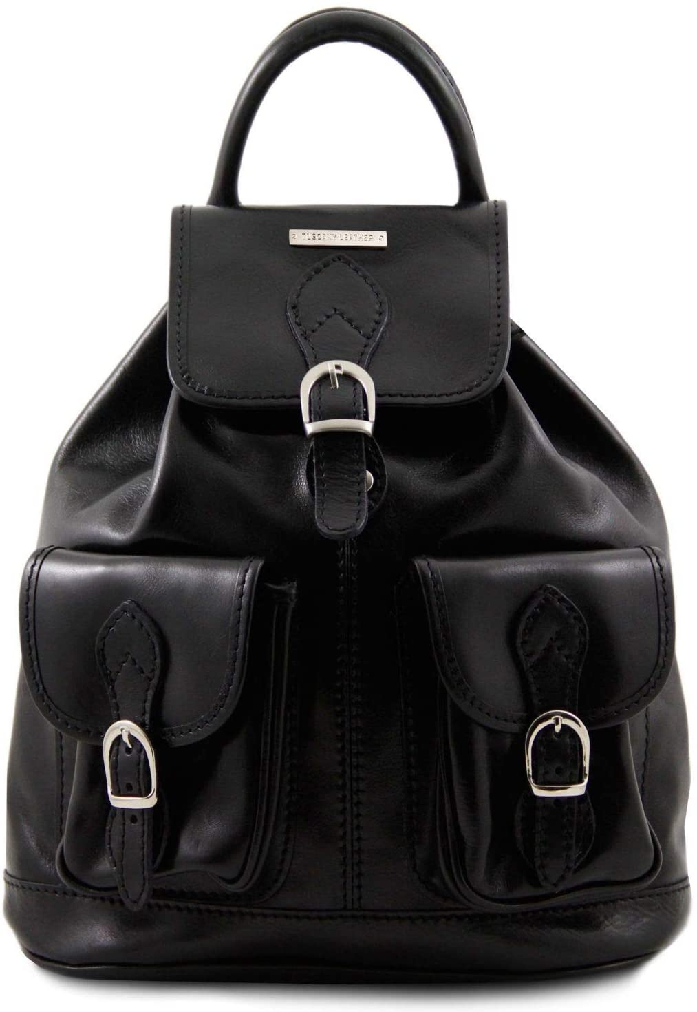 Tuscany Leather - Tokyo - Leather Backpack Black - TL9035/2
