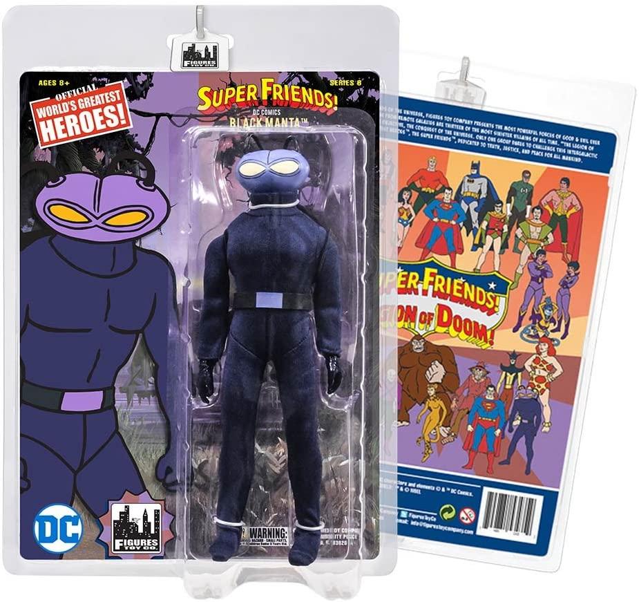 Super Friends Retro Action Figures Series: Manta