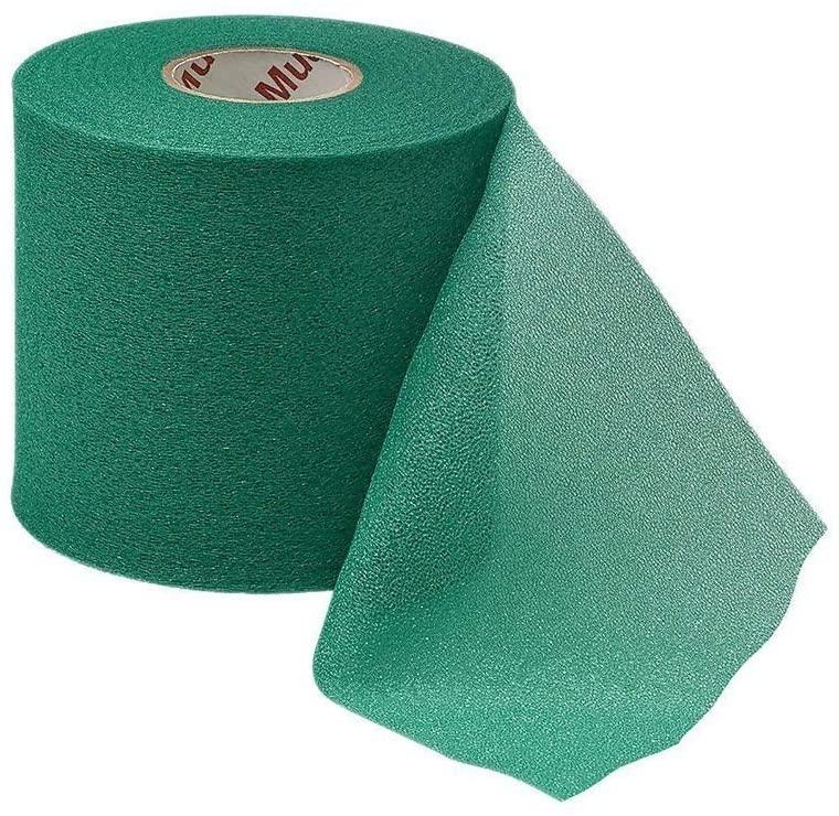 Mueller Mwrap Foam Pre-Taping Sports Fitness Underwrap Skin Protection; Green