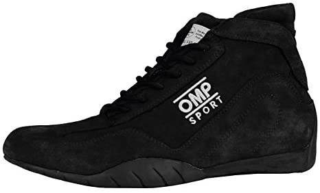 OMP Sport OS 50 Racing Shoes IC/792 (Size: 12.5, Black)