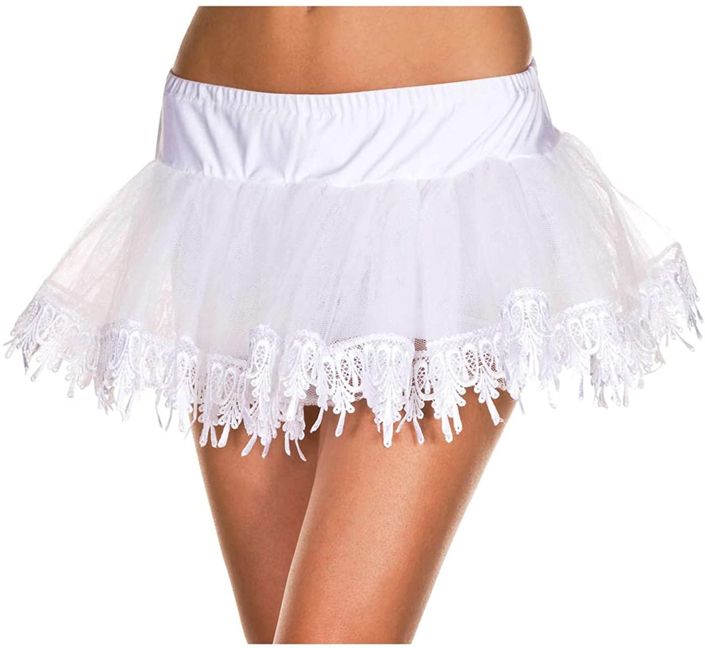 ToBeInStyle Women's Tear Drop Net Petticoat Skirt Accessory