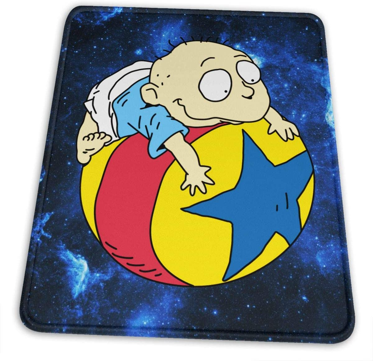 Rugrats Mouse Pad Ergonomic Mousepad Non-Slip Rubber Base Mouse Pads for Computers Laptop Office Desk Accessories Mouse Pad 7.9 X 9.5 in