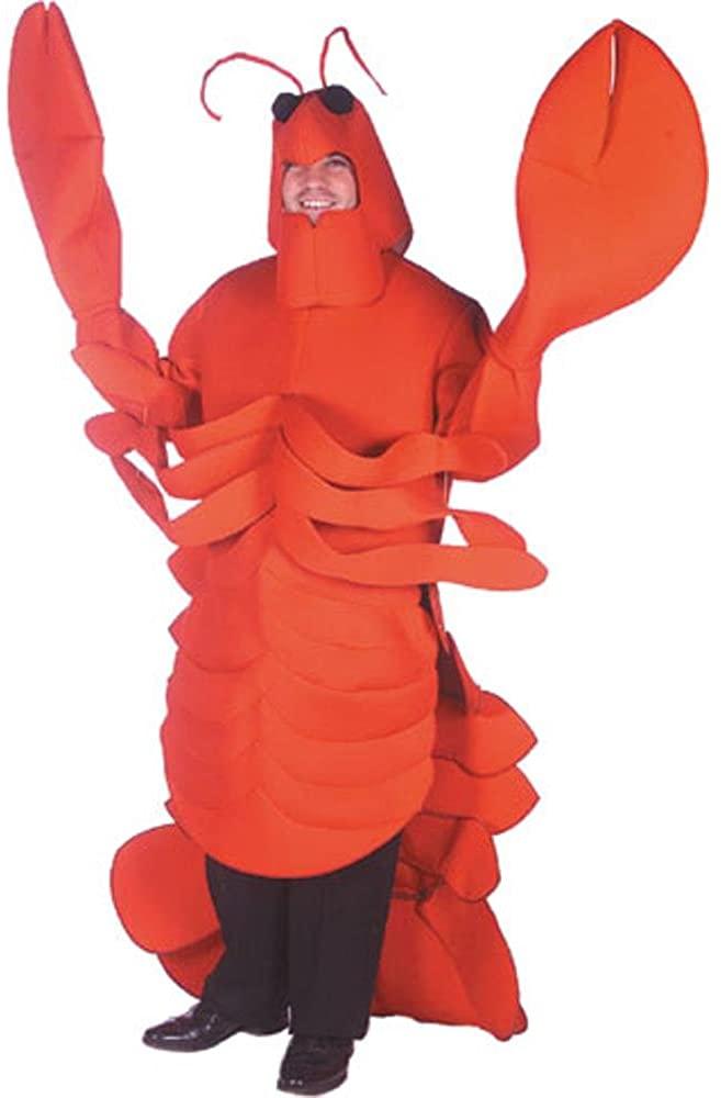Lobster Costume, Size Adult Standard