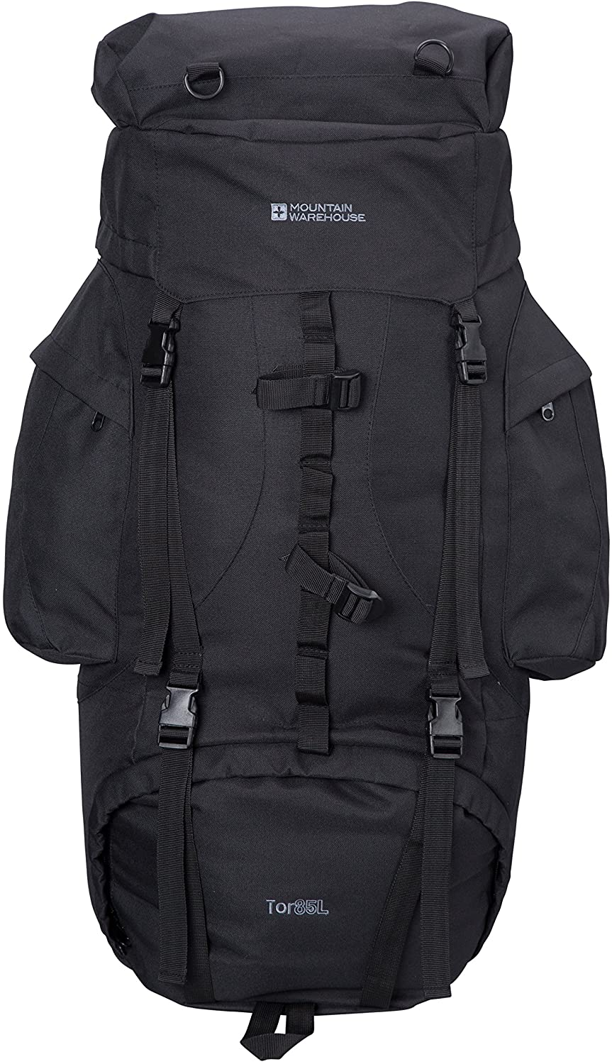 Mountain Warehouse Tor 85L Backpack -for Hiking, Backpacking, Camping