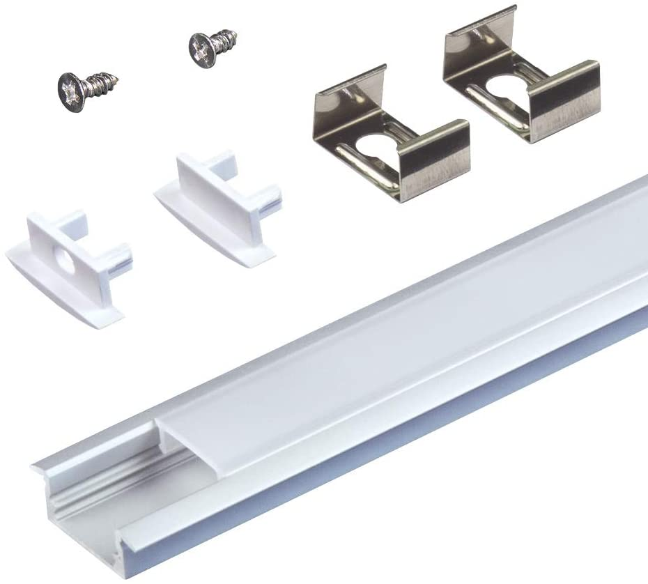 Armacost Lighting 960052 Recessed Mounting Channel, Aluminum