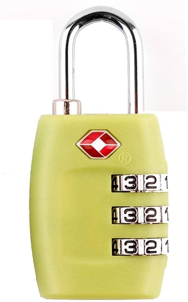 TSA Approved Luggage Lock, Green