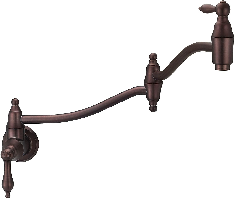 Danze D205040RB Fairmont Wall Mount Pot Filler, Oil Rubbed Bronze