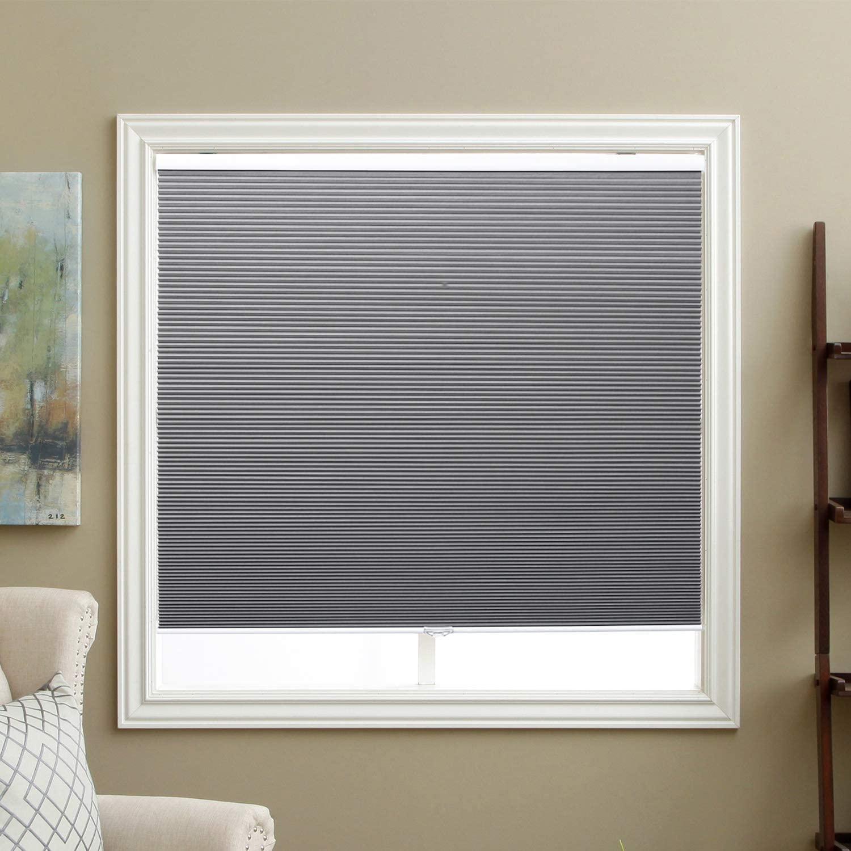 SBARTAR Cellular Blinds Cordless Blackout Honeycomb Blinds Fabric Window Shades 24