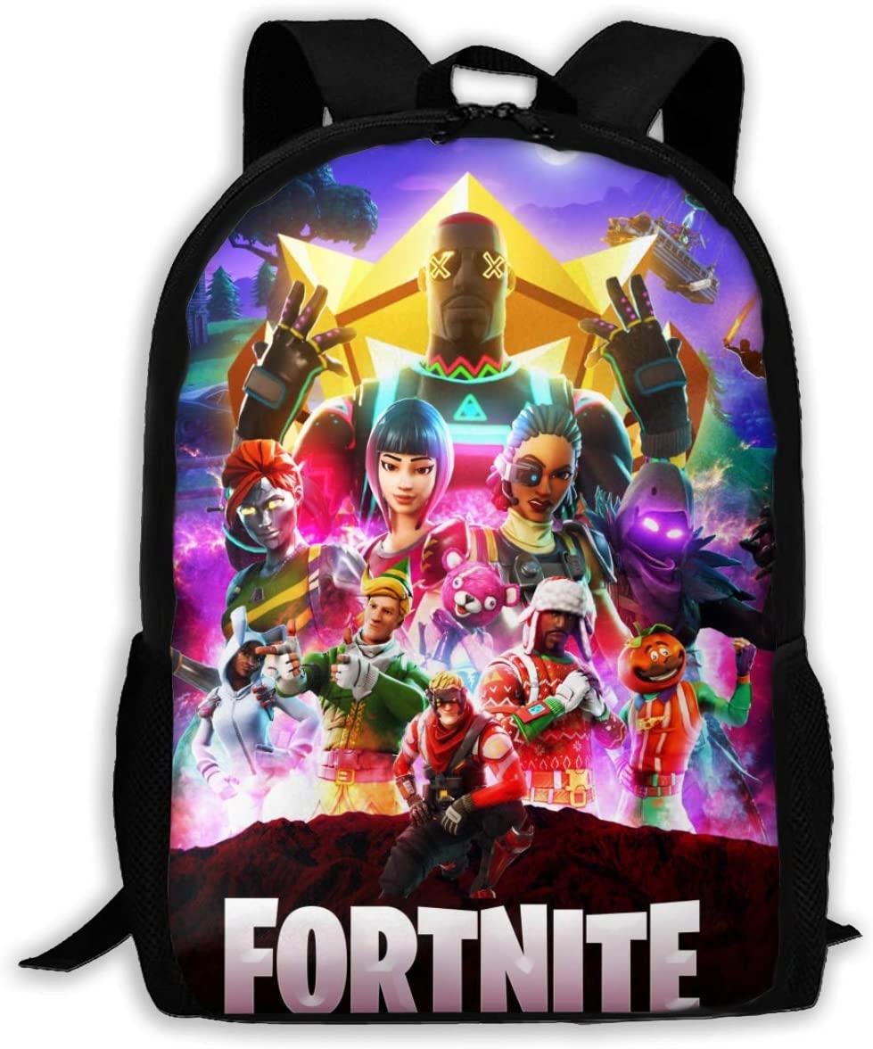 Fortnite Travel Bags Waterproof Shoulder Backpack School Backpacks For Boy Girl