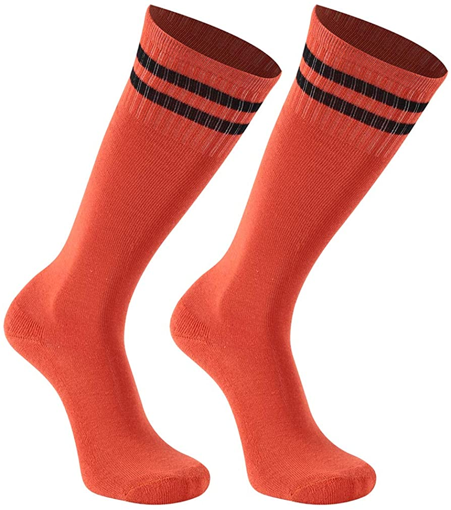 Kids Soccer Socks Youth Football Baseball Cushioned Team Socks Girls Boys 8-16 Years transla wonder