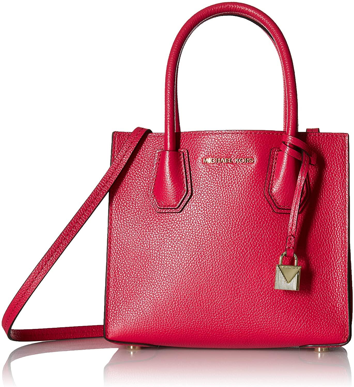 MICHAEL Michael Kors Mercer Medium Messenger Ultra Pink One Size